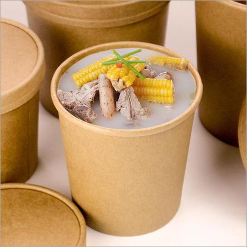 Kraft Paper Soup Bowl