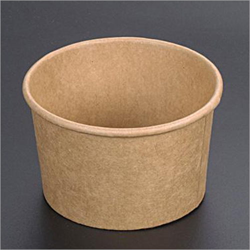 Disposable Kraft Paper Soup Cup