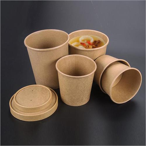 Kraft Paper Soup Cup