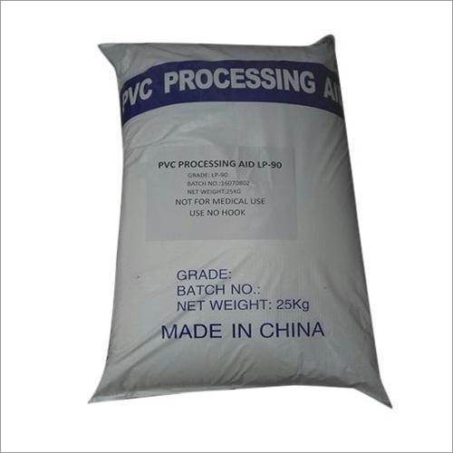 PVC, das Hilfsmittel verarbeitet
