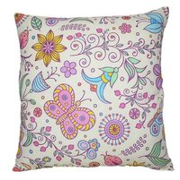 Multicolor Printed Cushion
