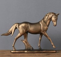 Resin Decorative Horse Showpiece