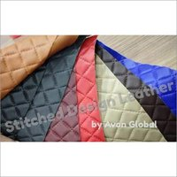 Stitched feel leather
