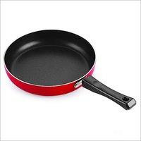 Nirlon Aluminum Non Stick Deep Fry Cookware Pan