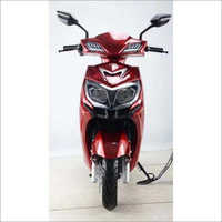 Red Electric Scooty