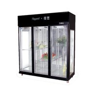 High Quality Super Market Flower Fresh Keeping refrigeration/ Keep Fresh Flower Display Cooler