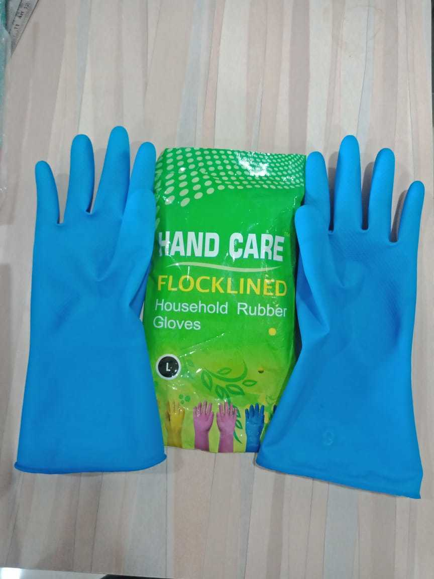 Flocklined Household Hand Gloves