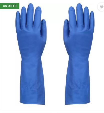 Flocklined Household Hand Gloves