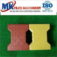 Interlocking Dumbbell Shaped Paver Blocks