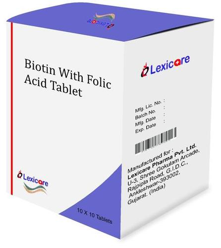 Biotine and Folic Acid Tablets