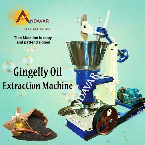 Gingelly Oil Extraction Machine