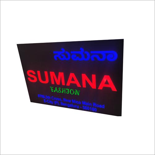 2D LED Signage Board