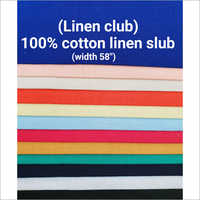 Cotton Linen Dyed Fabric