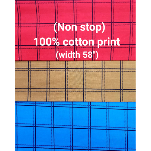 Yarn Dyed Melange Check Shirting Fabric