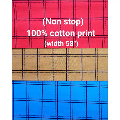 Yarn Dyed Melange Check Shirting Fabric