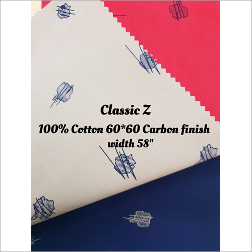 Carbon Print Shirting Fabrics