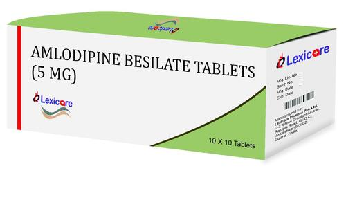 Amlodipine Besilate 5mg Tablets