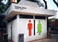 Public Toilet Deodorization and Disinfection System by Aeolus