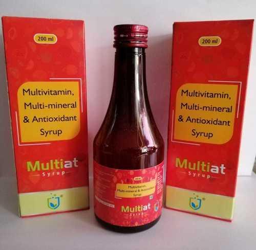 MULTIVITAMIN MULTI-MINERAL & ANTIOXIDANT SYRUP
