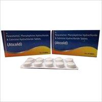 Paracetamol, Phenylephrine Hydrochloride& Cetirizine Hydrochloride Tab