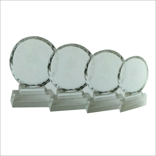 Crystal Plate Trophies