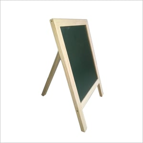 Free Standing Wooden Blackboard Stand