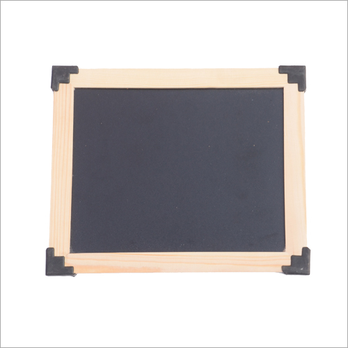 Wooden Frame Black Slate