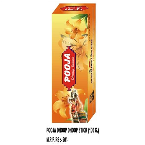 Pooja Dhoop Stick