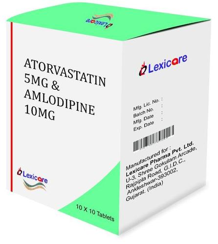 Atorvastatin and Amlodipin Tablets