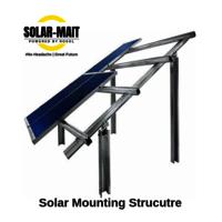 HOT-DIP SOLAR STRUCTURE