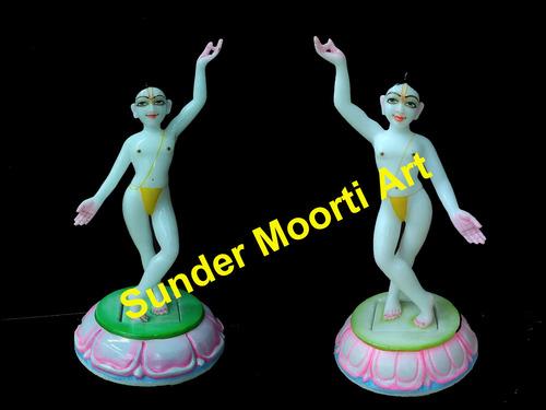 Marble Gaura Nitai Statues