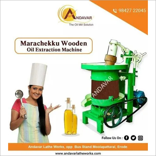 Mara Chekku Oil Mill Machine