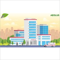 Wastewater treatment system for Hospitals & Healthcare facilities by Aeolus
