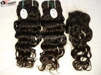 Natural Indian Remy Human Hair Weft