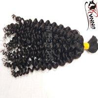 Curly Remy Bulk Hair