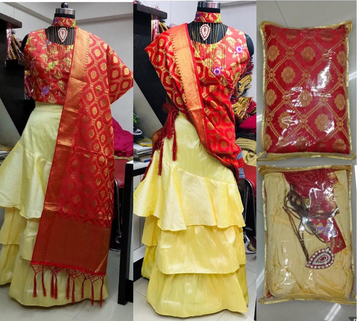 Traditional Lehga Choli Girls