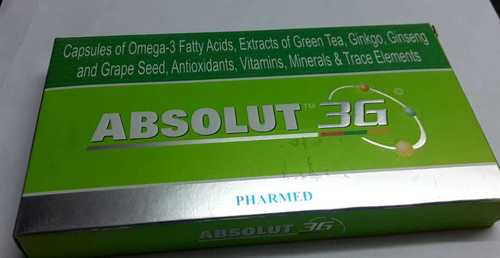 omega -3 fatty acids extract of green tea ginkgo
