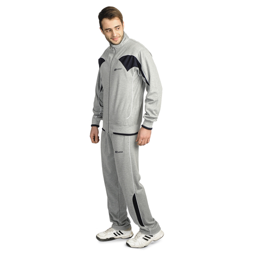 Mens Cotton Tracksuit (L.Grey)