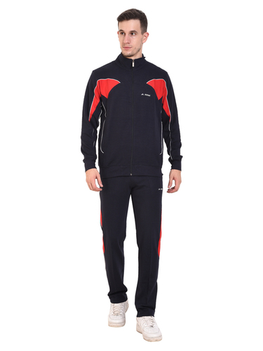 Mens Cotton Tracksuit (Navy)