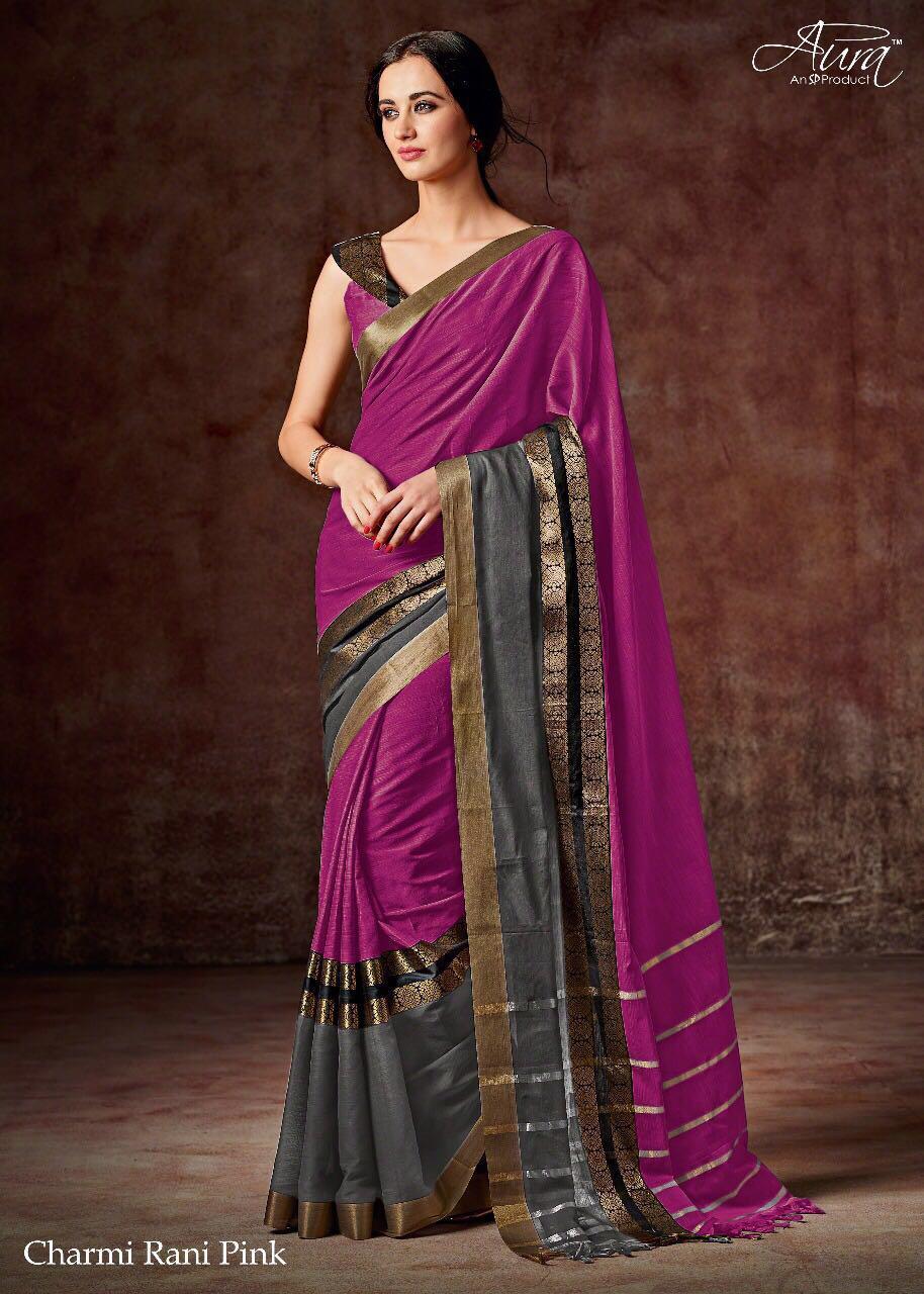 Ethnic Pure Cotton Silk Saree