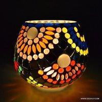 Candle Holder Golden Centerpiece Tea Light Holders Table Top Essentials