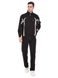 Mens Fleece Tracksuit (Black)