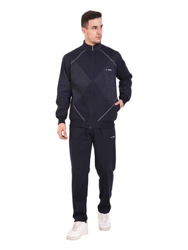 Mens Fleece Tracksuit (Navy)