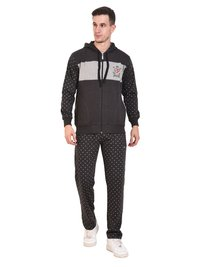 Mens Fleece Tracksuit (Anthra)