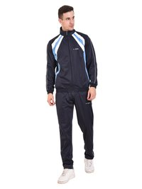 Mens Polyester Tracksuit (Navy)