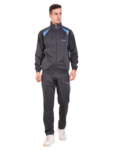 Mens Polyester Tracksuit (D.Grey)