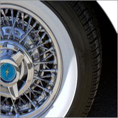Black Side Walls Tyre  Rubber