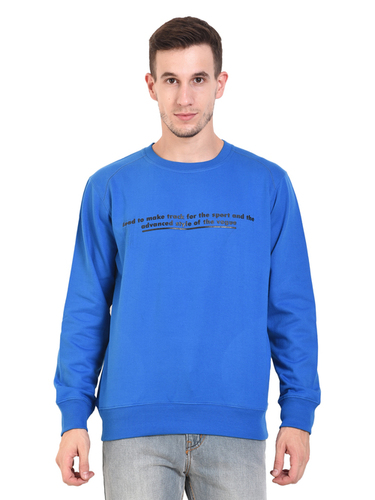 Mens Sweat Shirt (Royal)