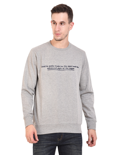 Mens Sweat Shirt (L.Grey)