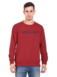 Mens Sweat Shirt (Red)
